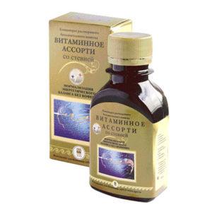 Концентрат безалкогольного напитка «Витаминное ассорти»